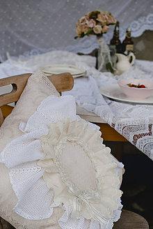 Úžitkový textil - Vintage vankúš I. - 5580311_