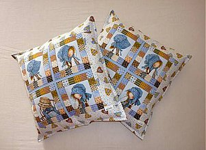 Úžitkový textil - Návliečka na vankúšik - Holly - 5588670_