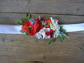 Opasky - svadobný opasok..maky - 5590574_