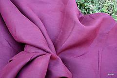 Textil - Ľanové plátno farebné - 5596467_
