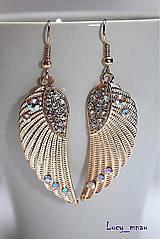 - Anjelské krídla zlato-ružovkasté :) - 5596645_