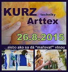 Kurzy - KURZ techniky Arttex - 26.8.2015 - 5602378_