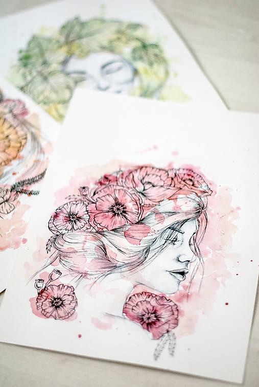 Akvarelový portrét na zákazku