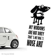 Pre zvieratká - nálepka - NOSE ART! - 5607056_