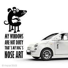 Pre zvieratká - nálepka - NOSE ART! - 5607060_