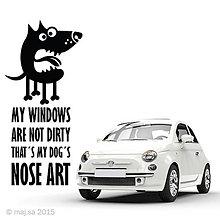 Pre zvieratká - nálepka - NOSE ART! - 5607064_