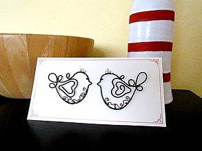 Darčeky pre svadobčanov - Obrázok -pohľadnica - 5612225_