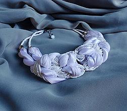 Náhrdelníky - Eklé - biela/perleťová - 5622543_