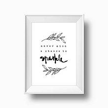 Grafika - Artprint // citát - 5630034_