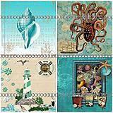 Textil - Bavlněná látka- panel , výběr SG14 - 5644629_