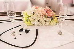 Iné doplnky - svadobné podbradniky  - 5649234_
