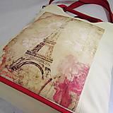 Kabelky - Kabelka Červená Paříž - 5657814_