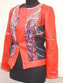 Kabáty - Kožené sáčko, v zľave - 5658834_
