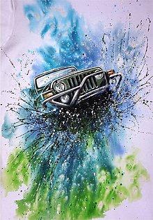Oblečenie - jeep pre otecka :) - 5665795_