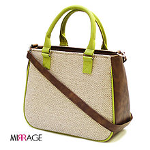 Kabelky - Chiara n.44 cocoa brown & apple green - 5679112_