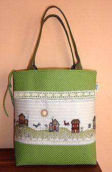 Veľké tašky - Taška - Na vidieku. - 5695188_
