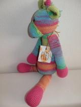 Hračky - Dúhová žirafka - 5701779_