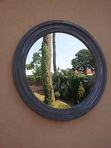 Zrkadlá - zrkadlo Marameg priemer 90 cm - 5705291_