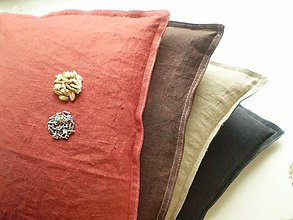 Úžitkový textil - Špaldový vankúš s levanduľou - 5725608_