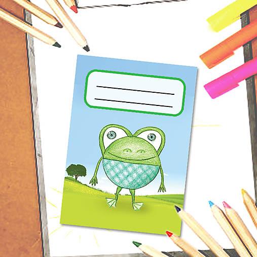 Mini zápisník Guľkáči - žabka