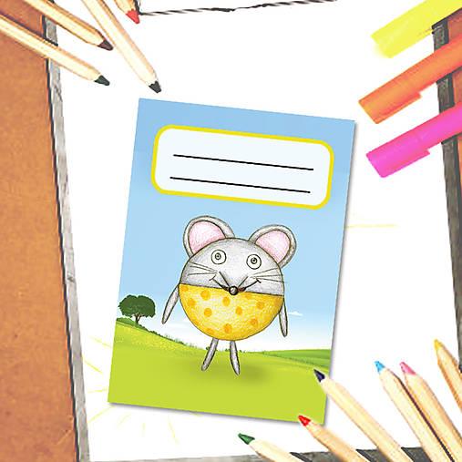 Mini zápisník Guľkáči - myš