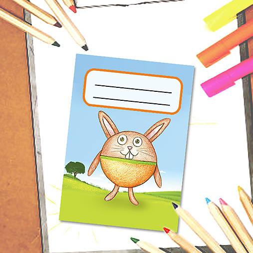 Mini zápisník Guľkáči - zajac