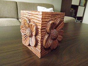 Svietidlá a sviečky - Drevený svietnik kvetinky I. - 5734271_
