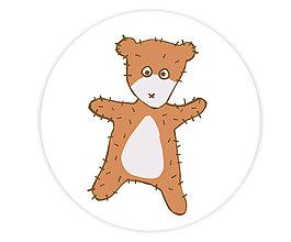 Odznaky/Brošne - Teddy Freddy odznak - 5734261_