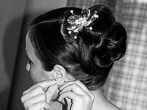 Ozdoby do vlasov - Svadobný kvet - Susann - 5735195_