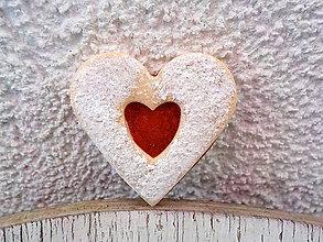Odznaky/Brošne - linecke srdce - brosna - 5735592_