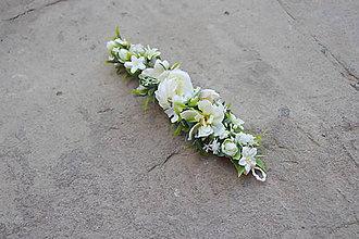 Ozdoby do vlasov - Kvety v závoji... - 5739574_
