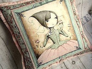 Úžitkový textil - Vankúš Mirabelle No.2 - 5748150_