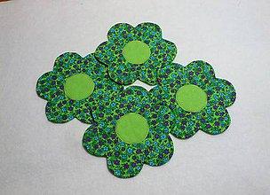Úžitkový textil - veselá kvetinovka - 5753573_