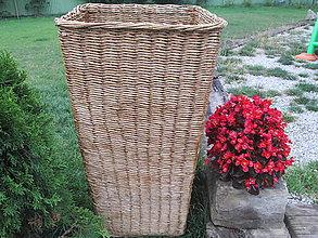 Košíky - Orechový kvetináč - 5758185_
