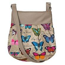 Kabelky - kabelka Tess 3 Butterfly - 5771046_