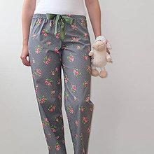 Pyžamy a župany - Pyžamo s ružami - 5794411_
