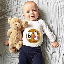 Detské doplnky - sada samolepiek - ZVIERATKÁ - 5798032_