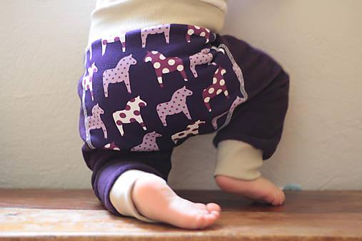 Flísové nohavice na jeseň/zimu