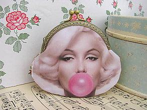 Peňaženky - Taštička Marilyn III - 5798009_