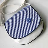 Kabelky - Adeline (bielo-modrá) - 5807407_