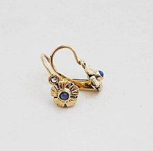 Náušnice - Opal flower earrings - 5825074_