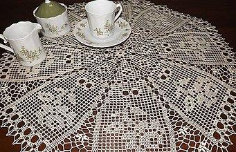 Úžitkový textil - béžová ružičková - 5838656_