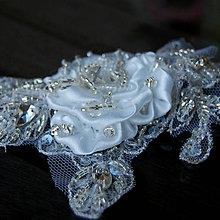 Ozdoby do vlasov - Wedding Lace Collection ... spona - 5878393_
