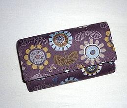 Peňaženky - Peňaženka - Honey Meadow. - 5875539_