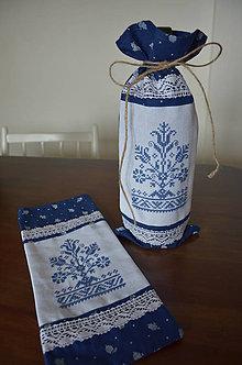 Úžitkový textil - Obal na víno - 5883802_