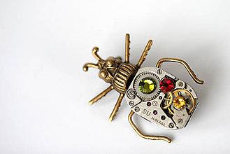 Odznaky/Brošne - Autumn Beetle - 5884417_