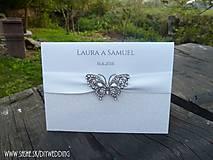- Svadobné oznámenie Farfalla - 5893642_