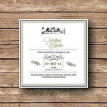 Papiernictvo - Svadobné oznámenie Tuscany - 5892644_
