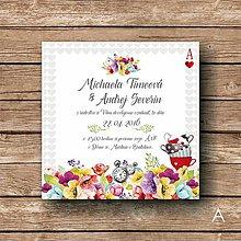 Papiernictvo - Svadobné oznámenie Alice - 5892706_