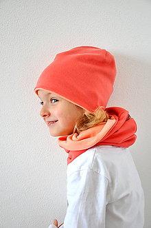 Detské súpravy - Set čiapka a nákrčník - 5899743_